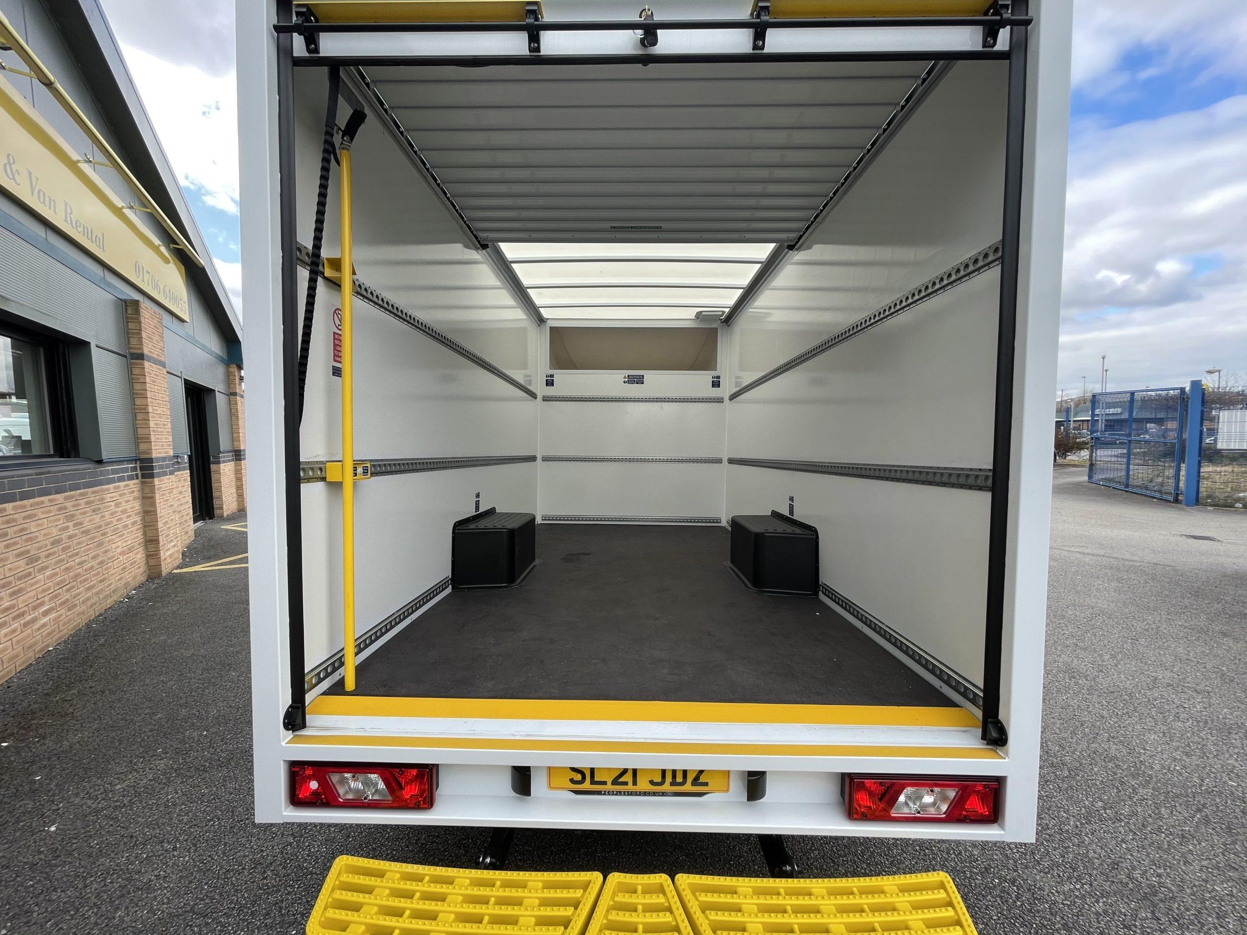 Luton Box Van Low Loader